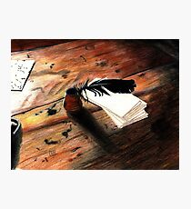 Quill Pen Photographic Print