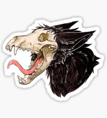 Release The Hound Sticker