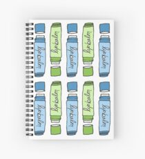 Pastel Lip Balm Illustration Spiral Notebook