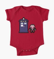 12th Doctor and the Tardis One Piece - Short Sleeve