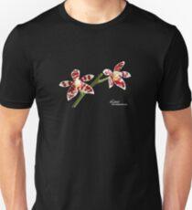 Phalaenopsis bunt Logo Unisex T-Shirt