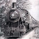 South Simcoe Steam Train by Genevieve Crabe
