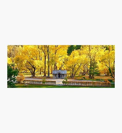 History in the Autumn Photographic Print