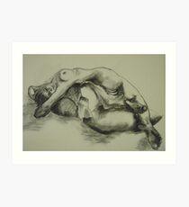 Mia - 20 min sketch Art Print