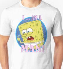 Spongebob is Manly T-Shirt