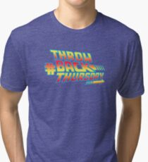 Throw Back Thursday Tri-blend T-Shirt