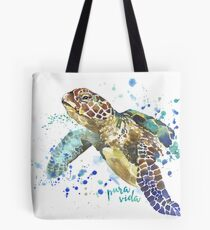 Tote Bag - blue ocean by VIDA VIDA