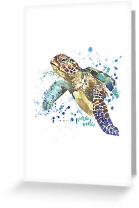 VIDA Tote Bag - Sea Turtle by VIDA
