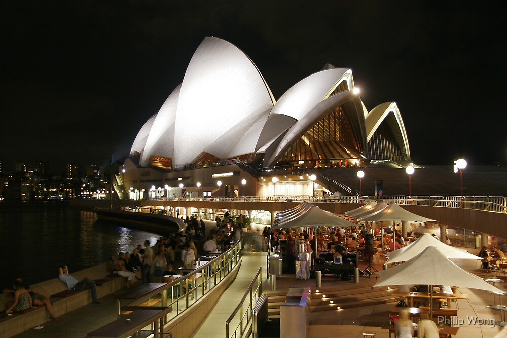 Summer Night at the Opera House by Philip Wong