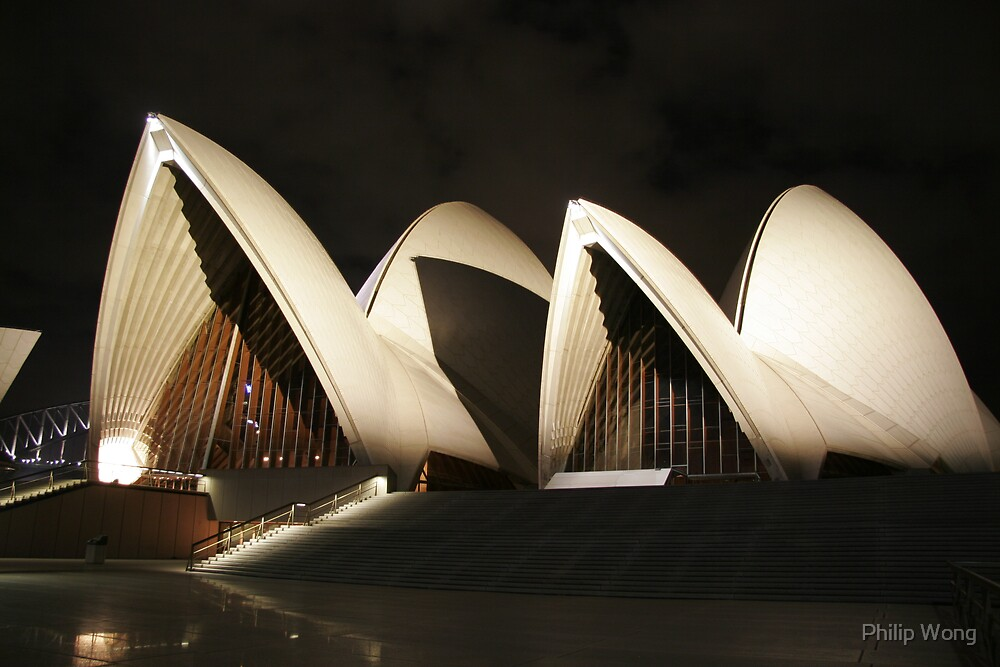 Opera House by Night by Philip Wong
