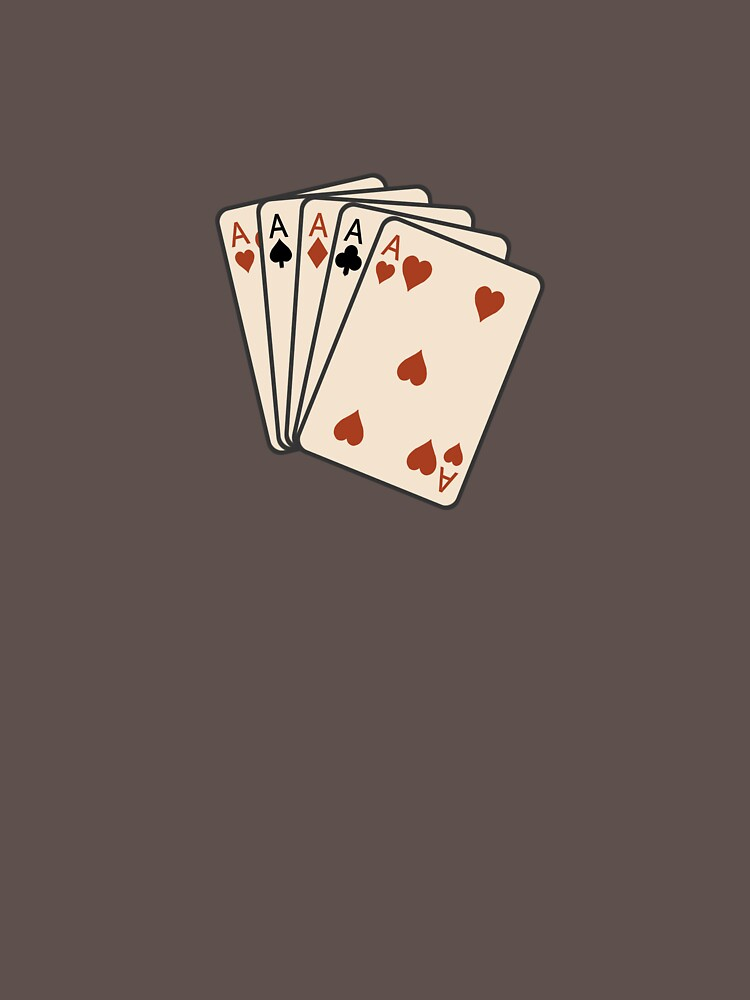 Aces, five of them by Doan