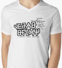 Quills New Gear Men's V-Neck T-Shirt