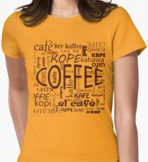 Coffee! Women's Fitted T-Shirt