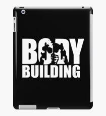 BODYBUILDING Iconic (white) iPad Case/Skin