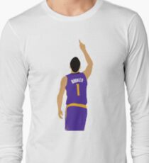 Devin Booker 70 Points Finger To The Sky Long Sleeve T-Shirt