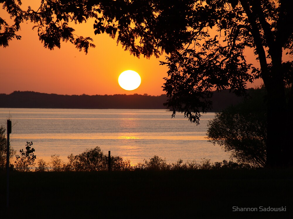 Kansas Sunset by Shannon Sadowski