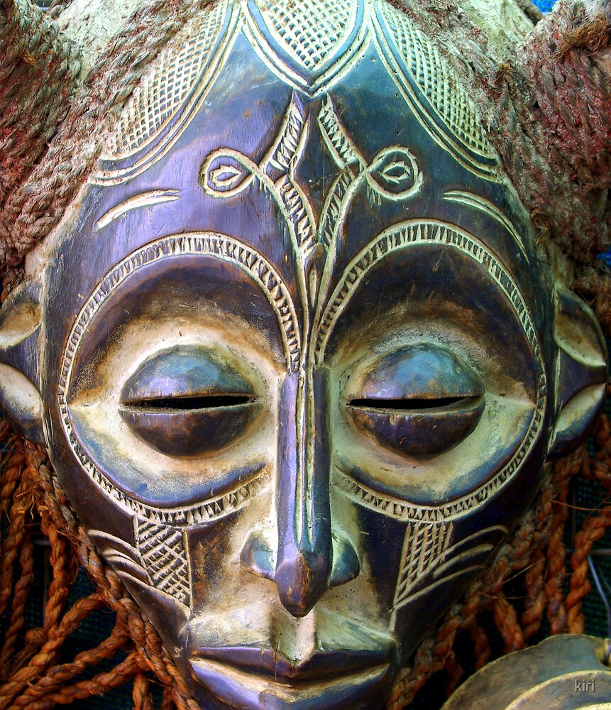 African Mask by kiri