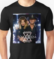 SOUL 2 SOUL FAITH HILL TIM GRAW LIVE 2017 WULUNG T-Shirt