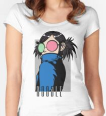 Noodle - Saturnz Barz Women's Fitted Scoop T-Shirt