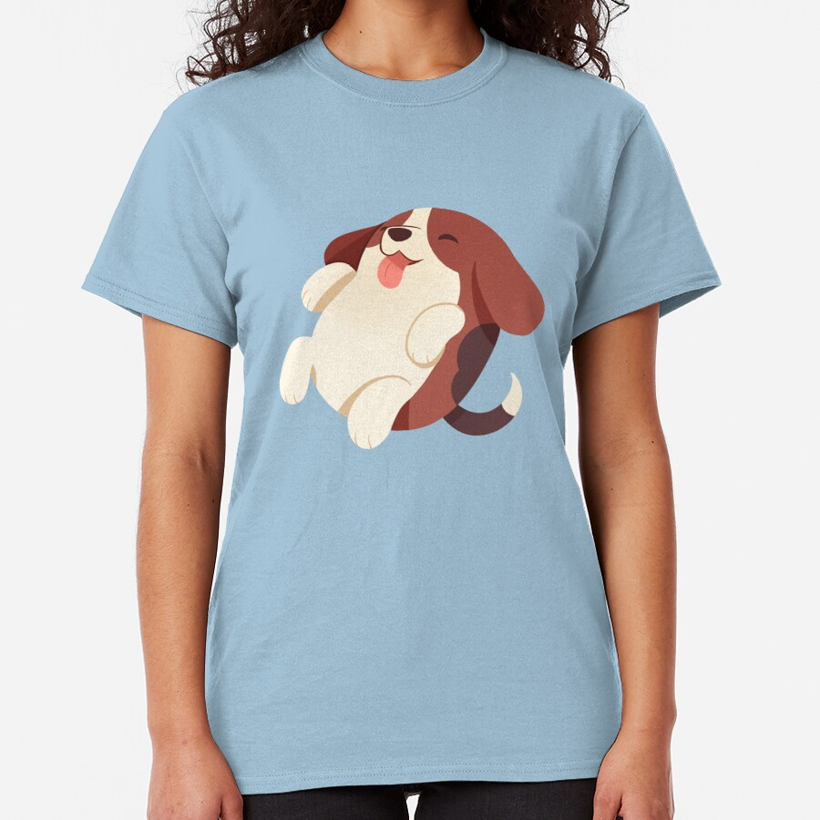Puppy Bean Beagle Classic T-Shirt