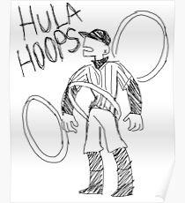 HULA HOOPS Poster
