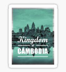 Kingdom of Cambodia | Angkor Wat Sticker
