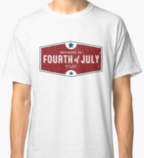 Fourth of July Classic T-Shirt