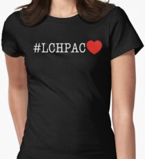 #LCHPAC Heart Women's Fitted T-Shirt