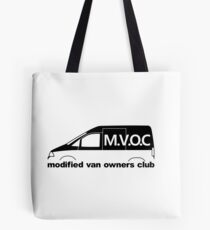 MVOC - for Citroen Jumpy (1st gen) enthusiasts Tote Bag