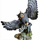 Owl & Prey  by Heather Friedman