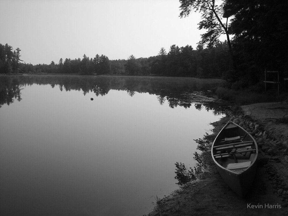 lonely lake by Kevin Harris