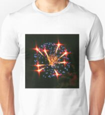 A July 4th Overhead Display Unisex T-Shirt