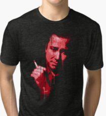 Bill Hicks (red) Tri-blend T-Shirt