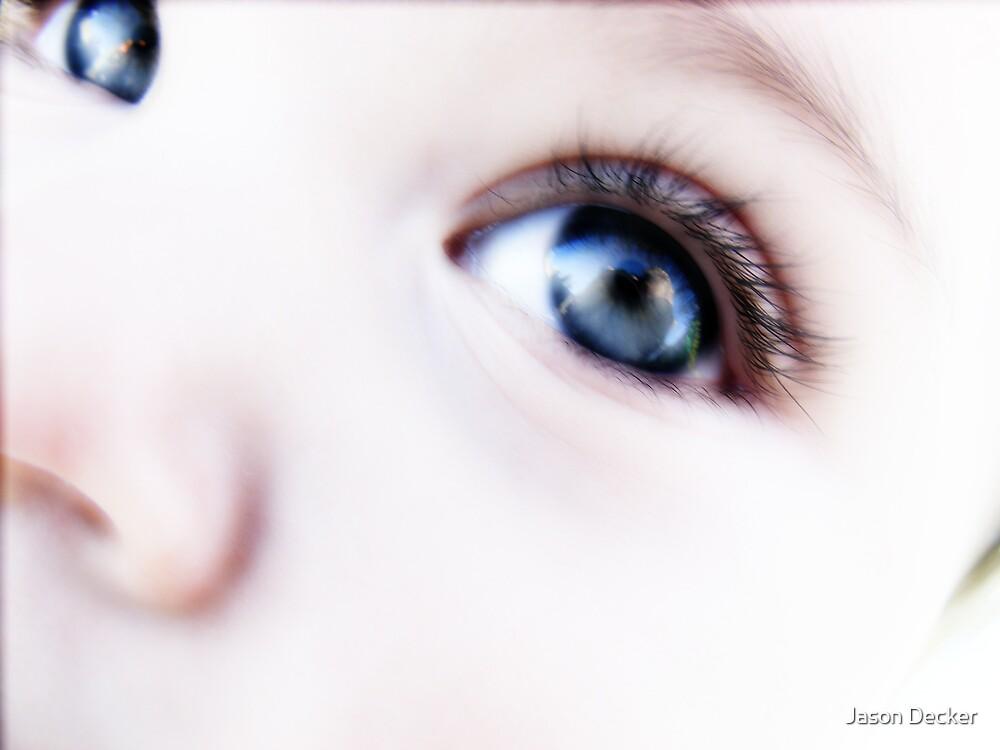 Angel in her eyes by Jason Decker