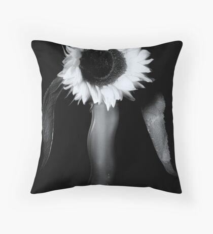 Not So Sunny Throw Pillow