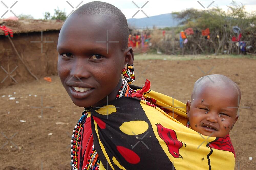Masai Mummy by ApeArt