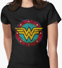 The super woman Womens Fitted T-Shirt
