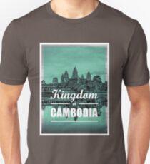 Kingdom of Cambodia   Angkor Wat Unisex T-Shirt
