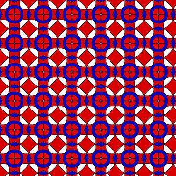 Red White and Blue by BHDigitalArt