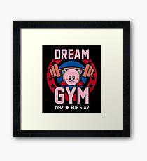 kirby gym Framed Print