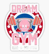 kirby gym Sticker