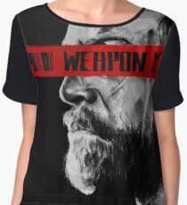 Like Father Like Daughter - Weapon X Chiffon Top