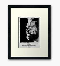 Like Father Like Daughter - Weapon X (no red bar) Framed Print