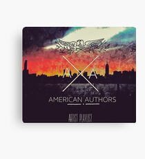 American Authors gwenbeasley 3 Canvas Print