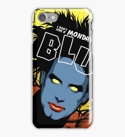 Post-Punk Blue iPhone Case/Skin