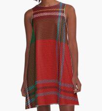 MacLean of Duart Clan/Family Tartan  A-Line Dress