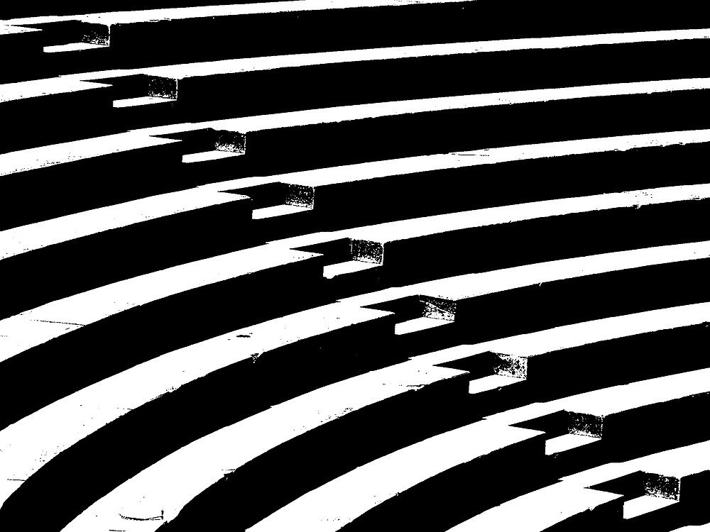 BW Abstract Stairs by Jan Cervinka