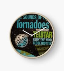 The Tornadoes – The Original Telstar - The Sounds Of The Tornadoes Outer Space  Clock