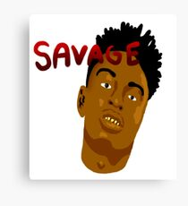 21 Savage vol. 1 Canvas Print