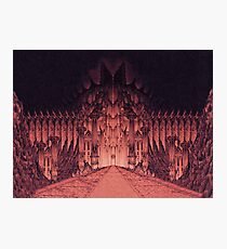 The Walls of Barad Dûr Photographic Print